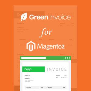 תוסף חשבונית ירוקה למערכת מג'נטו2